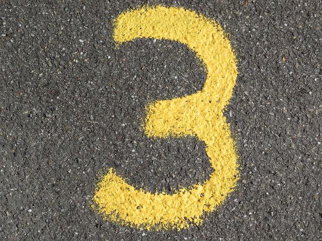 numerologija število 3